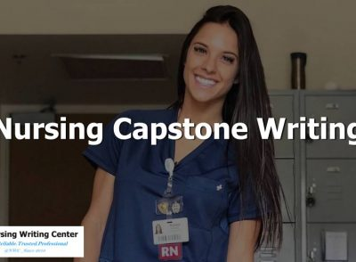 Nursing Capstone Writing