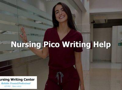 Nursing Pico Writing Help